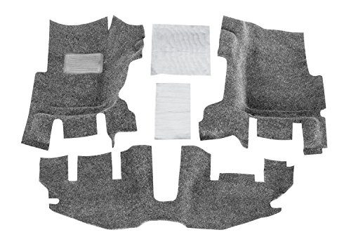 Bedrug Jeep Kit BRTJ97F fits 97-06 TJ/LJ FRONT 3PC FLOOR KIT WITH CENTER CONSOLE – INCLUDES HEAT SHIELDS