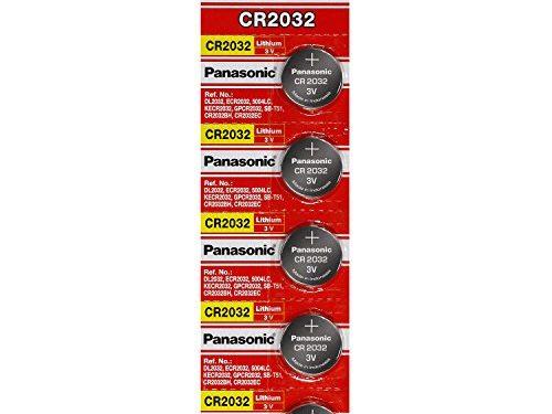 10 pcs  — Panasonic Cr2032 3v Lithium Coin Cell Battery Dl2032 Ecr2032  Pack of 10