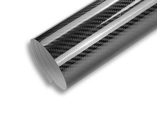 TCBunny 5D Carbon Fiber Vinyl Wrap Sticker Air Realease Bubble Free Waterproof anti-wrinkle, 120 inch x 60 inch 10FT x 5FT