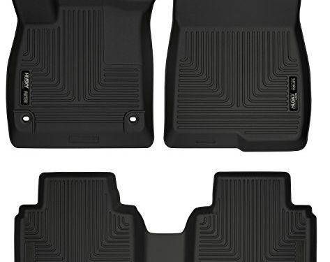 Husky Liners 95741 Black Front Floor fits 18-18 Accord