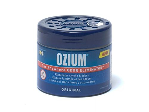 Ozium Smoke & Odors Eliminator Gel. Home, Office and Car Air Freshener 4.5oz 127g, Original Scent Size: Single