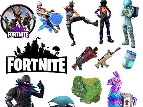 14 pcs/pack Fornite Stickers Variety Vinyl Laptop Stickers Car Sticker Motorcycle Bicycle Luggage Decals Computer Stickers for Skateboard Stickers for Kid and Adult Variety Pack