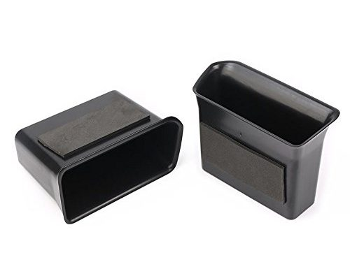 Vesul Black Front Row Door Side Storage Box Handle Armrest Phone Container for VW Volkswagen Atlas 2018 – Up