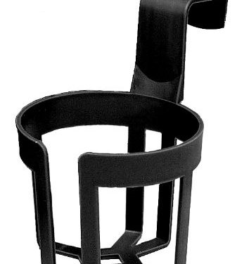 Custom Accessories 91100 Black Large Cup Holder – 44 oz.Capacity