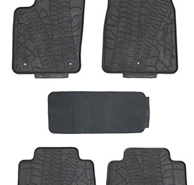 TMB Motorsports All Weather Floor Mats for Jeep Grand Cherokee 2011-2018