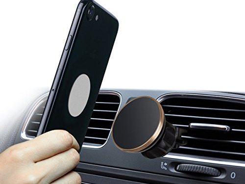 Magnetic Car Mount,360° Rotation Universal Air Vent Magnetic Mount,Magnetic Cell Phone Car Mounts Holder Magnet for iPhone 8, X, 7, 7P, 6S, 6P, 5S, Samsung Galaxy S5, S6, S7, S8,S9 Plus LG, Huawei