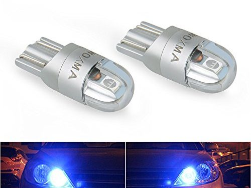 T10 LED Bulbs Extremely Bright 3030 Chipset 194 168 SMD W5W LED Wedge Light 1.5W 12V License Plate Light Turn Light Signal Light Trunk Lamp Clearance Lights Reading lamp 6pcs, Blue
