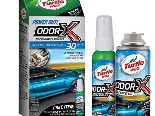 Turtle Wax 50653 Power Out Odor-X Whole Car Blast, 2.524 fl. oz