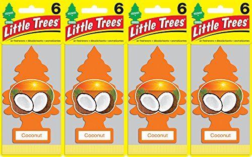 Little Trees Coconut Air Freshener, Pack of 24