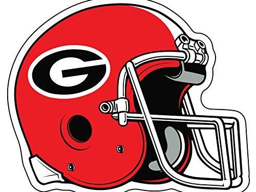 Georgia Bulldogs Decal HELMET G DECAL 3″