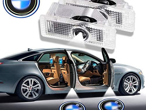 LED Door Light Logo Projector Ghost Shadow Welcome Lamp Car Remodel Accessories compatible BMW Series – 2 Pack