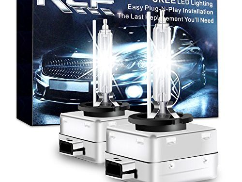 D1S6 – A Pair D1S/D1R 6000K Xenon HID Replacement Bulb Diamond White Metal Stents Base 12V Car Headlight Lamps Head Lights 35W – RCP