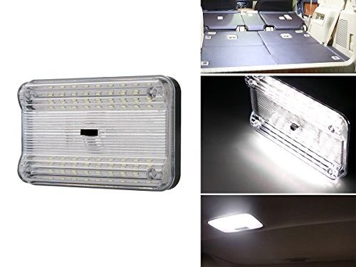 LinkStyle Car Roof Light, New 12V 36 LED Car Vehicle Interior Dome Roof Ceiling Reading Trunk Light Lamp