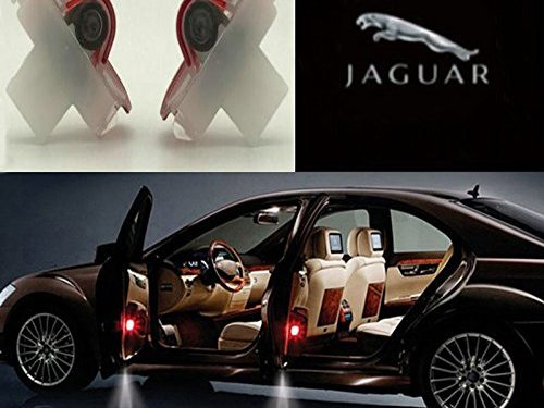 Auto Sport Car Door Logo Shadow Projector LED welcome Light jaguar