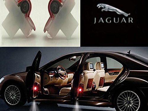 Auto Sport Car Door Logo Shadow Projector LED welcome Light jaguar