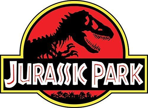 JURASSIC PARK 4″x5″ Sticker Decal Vinyl Jeep Safari Dinosaur