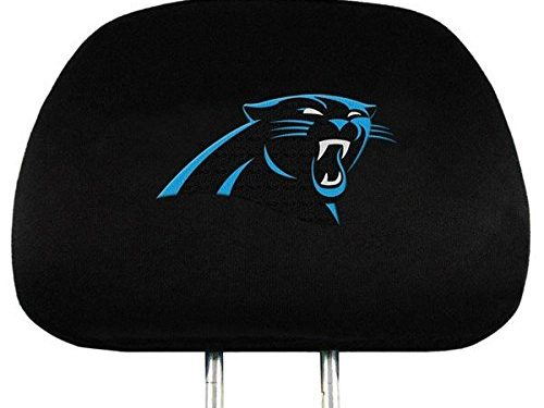NFL Carolina  Panthers Head Rest Covers, 2-Pack