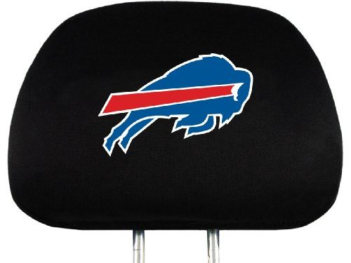 NFL Buffalo Bills Head Rest Covers, 2-Pack