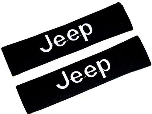 QZS Jeep Seat Belt Shoulder Pads Strap Covers Cushion 1 Pair