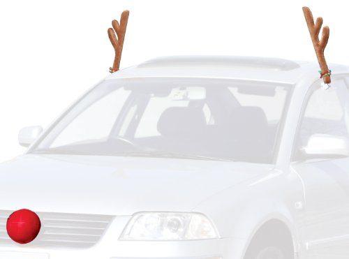 Mystic Industries Original Reindeer Vehicle Costume with Jingle Bells