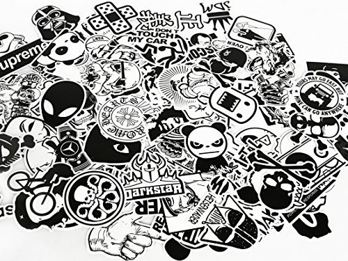 UTSAUTO Graffiti Stickers Decals Pack of 100 pcs Car Stickers Motorcycle Bicycle Skateboard Luggage Phone Pad Laptop Stickers And Bumper Patches Decals Waterproof Type 7