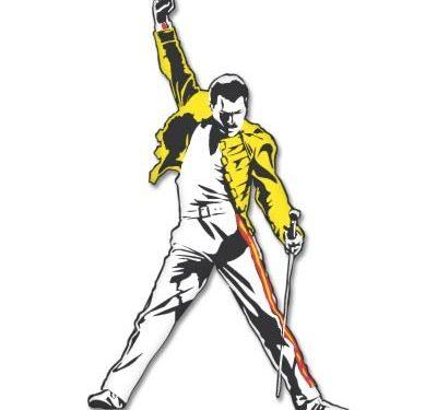 Select Size – Freddie Mercury Queen Vynil Car Sticker Decal