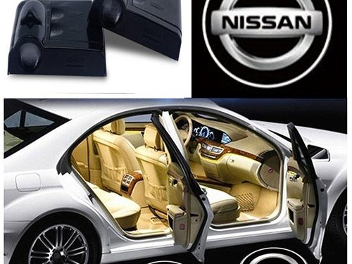 ZhengRong Car Door LED Lighting Entry Laser Ghost Shadow Projector Welcome Lamp for Nissan 2 Piece