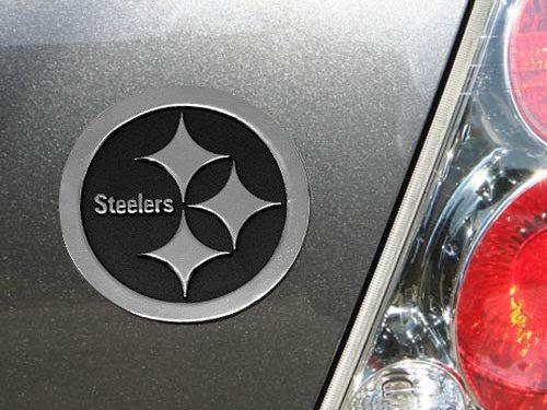NFL Pittsburgh Steelers Premium Metal Auto Emblem