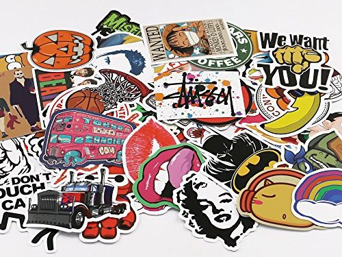 UTSAUTO Graffiti Stickers Decals Pack of 100 pcs Car Stickers Motorcycle Bicycle Skateboard Luggage Phone Pad Laptop Stickers And Bumper Patches Decals Waterproof Type 2