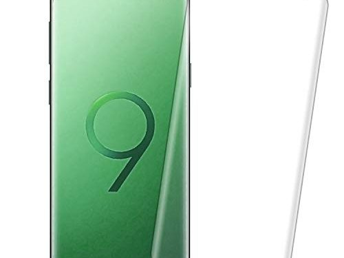 2 Pack Galaxy S9 Clear Screen Protector – Curved EdgeCase Friendly Anti-Scratch Bubble-Free Tempered Glass Film Compatible with Samsung Galaxy S9