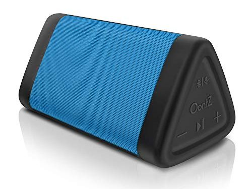 OontZ Angle 3 Portable Bluetooth Speaker : Louder Volume 10W Power, More Bass, IPX5 Water Resistant, Perfect Wireless Speaker for Home Travel Beach Shower Splashproof, by Cambridge SoundWorks Blue