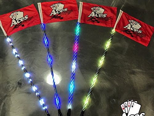 Aces Racing Deluxe LED Lighted Whip 5ft 400 Combination