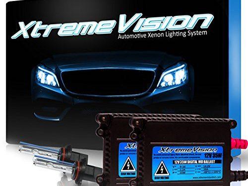 XtremeVision 35W HID Xenon Conversion Kit with Premium Slim Ballast – 9005 5000K – Bright White – 2 Year Warranty