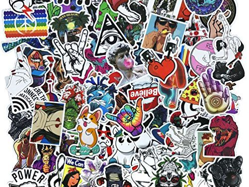Cool Teens 100 Pieces Cool Stickers Pack Waterproof Funny Graffiti Stickers Decals For Laptop Bumper Bike Luggage Skateboard Helmet Car Phone