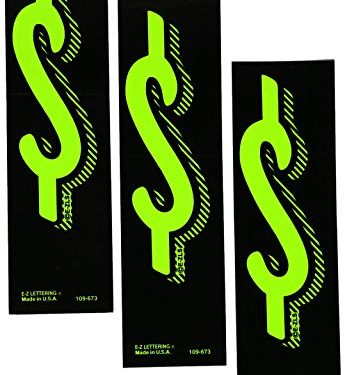 7 1/2 Green Chartreuse Pricing Numbers For Car Dealers 3 Dozen # $'s