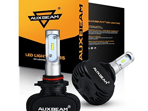 1 Year Warranty – Auxbeam LED Headlight Bulbs NF-S1 Series LED Headlights with 2 Pcs of 9005 HB3 H10 9145 LED Philips CSP LED Headlight Conversion Kit 50W 8000lm 6000K Single Beam