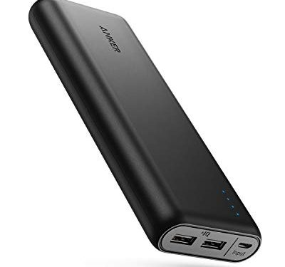 Anker PowerCore 20100 – Ultra High Capacity Power Bank with 4.8A Output, PowerIQ Technology for iPhone, iPad and Samsung Galaxy and More Black