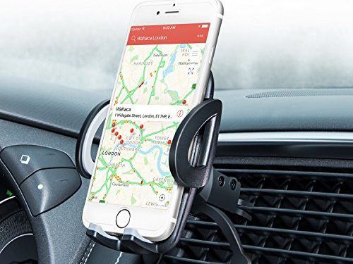 Sundix Car Phone Mount, Universal Car Air Vent Mount Phone Holder Cradle for iPhone Xr/Xs/XsMax/X/8/8Plus, Samsung Galaxy,HTC,LG,Google and More