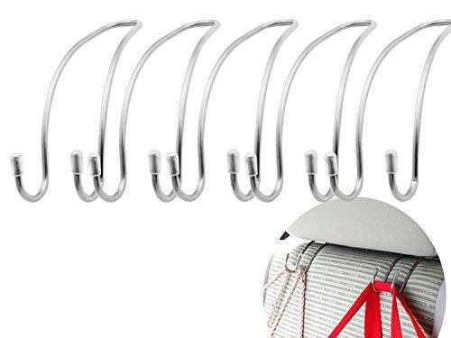 REVEW 10PCS Car Headrest Hook Backseat Hanger Seat Hook Headrest Car Hooks Hanger Hook