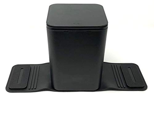 Meistar Car Trash can Bin Waste Container Plastic with lid.