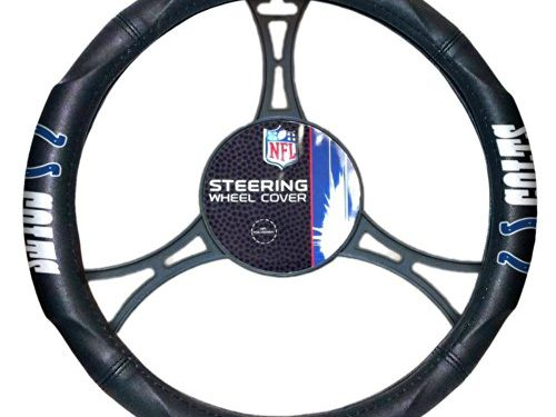 Officially Licensed NFL Indianapolis Colts Steering Wheel Cover