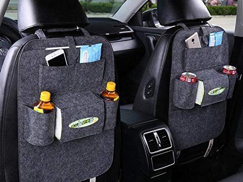 dalina Auto Car Back Seat Organizers Multi Pockets Storage Organizer Holder Bag