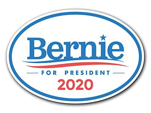 2016 United States Presidential Election Candidate GOP 1 – 6.5″ x 4.5″ Bernie Sanders for President Oval Bumper Sticker Decal
