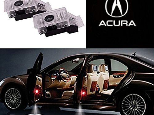 Auto Sport Car Door Logo Shadow Projector LED welcome Light Acura