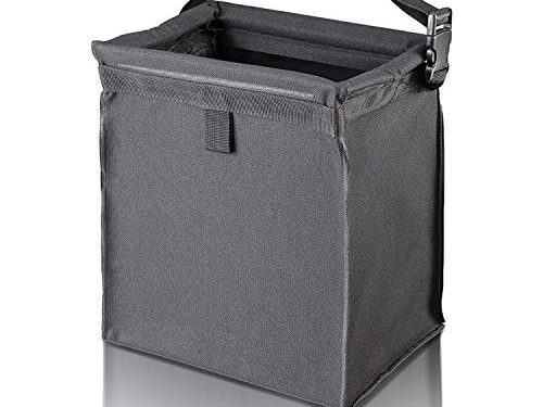 Vehicle Car Trash Can Bin – Auto Trash Garbage Bag Hanging Container as Automotive Small Car Wastebasket Trashcan Easy Clean Leak-proof for Keeping Any Truck Cleaner and Clutter Free