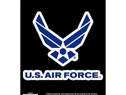 Officially Licensed U.S. AIR FORCE – Large 5.5″ US Military Sticker for Truck or Car Windows – Large Military Car Decals Military Collection
