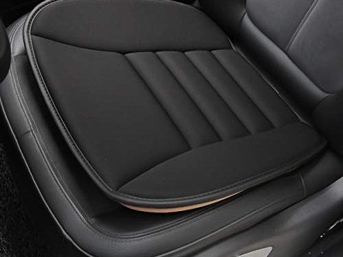 Black 1PC – Aukee Car Seat Cushion, Office Chair Wheelchair Mat Memory Foam Pad Back Sciatica Pain Relief