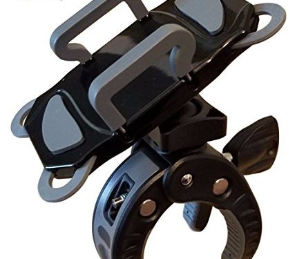 Crescendo CR-30 SlimClip Smart Phone Holder | Mount Clamp for Microphone Stand, Boom, Pole, Mic or Music Stand | Apple iPhone, Samsung Galaxy or Note, Google Pixel, LG, HTC, Moto, OnePlus