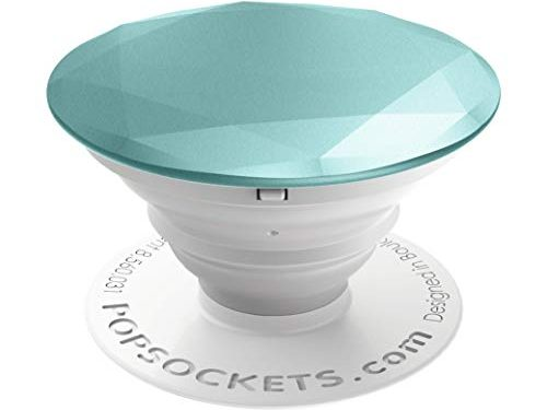 PopSockets: Collapsible Grip & Stand for Phones and Tablets – Glacier Metallic Diamond