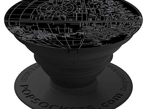 Star Wars Death Star – PopSockets: Collapsible Grip & Stand for Phones and Tablets